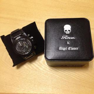 エンジェルクローバー(Angel Clover)の希少 限定生産 エンジェルクローバー ロエンコラボ腕時計 クロノグラフ(腕時計(アナログ))