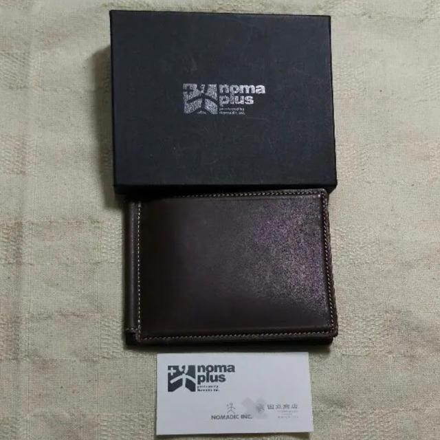 NOMADIC(ノーマディック)の!新品 ノーマディック nomaplus カードケース NOMADIC 国立商店 レディースのファッション小物(名刺入れ/定期入れ)の商品写真