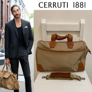 セルッティ(Cerruti)のCERRUTI 1881 SHAPES 日本製 ナイロンレザーボストンバッグ(ボストンバッグ)