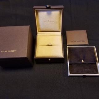 ルイヴィトン(LOUIS VUITTON)のルイヴィトンメンズ 指輪 リング プラチナ エピ Louis Vuitton(リング(指輪))