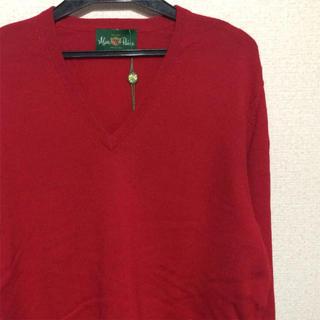 ジョンスメドレー(JOHN SMEDLEY)の新品未使用 Alan Paine Vネックニット セーター size40(ニット/セーター)