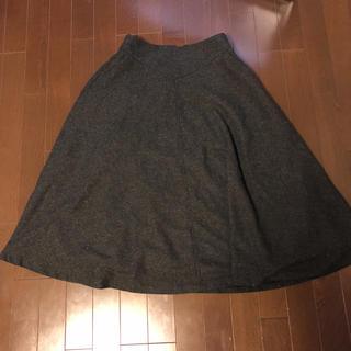 リサーチ(....... RESEARCH)の美品items urban research   スカート グレー(ひざ丈スカート)
