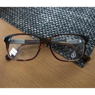モンクレール(MONCLER)のMONCLER(モンクレール) べっ甲メガネ ML5012 053(サングラス/メガネ)