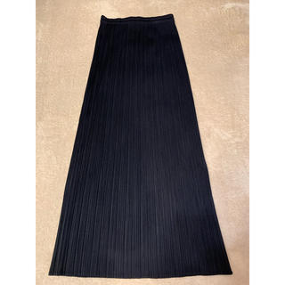 プリーツプリーズイッセイミヤケ(PLEATS PLEASE ISSEY MIYAKE)のイッセイミヤケプリーツプリーズ スカート  美品(ロングスカート)