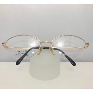 ハナエモリ(HANAE MORI)のハナエモリ 金張り 12KGF 新品 眼鏡 フレーム フォーマル メガネ めがね(サングラス/メガネ)