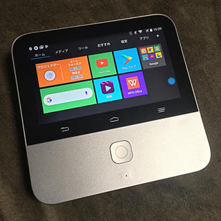 【美品】モバイルシアター 502ZT Android搭載プロジェクター HD画質