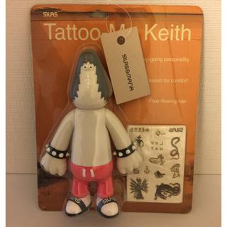 サイラス(SILAS)のサイラス フィギュア Tattoo-Me Keith 赤パンツ(その他)