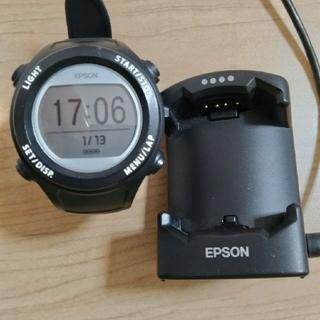 エプソン(EPSON)のランニングウォッチ EPSON SF-110(腕時計(デジタル))