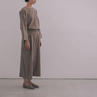 エヴァムエヴァ(evam eva)のevam eva  wool cashmere pants(カジュアルパンツ)