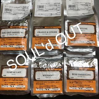 ルピシア(LUPICIA)のルピシア  フレーバード リーフティー  6袋(茶)