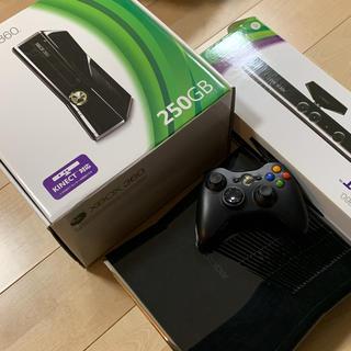 エックスボックス360(Xbox360)のXBOX360本体 + KINECTセンサー + ソフト5本セット(家庭用ゲーム本体)