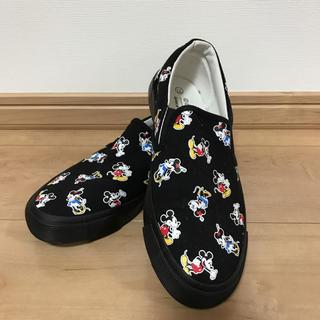 ディズニー(Disney)のミッキーミニースリッポン(スリッポン/モカシン)