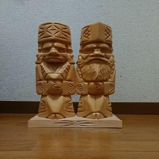 アイヌの木彫り(大)(彫刻/オブジェ)