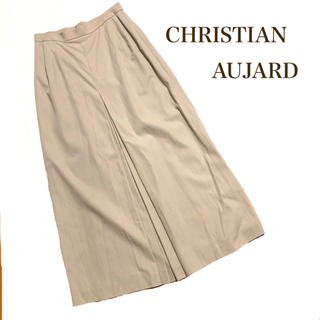 クリスチャンオジャール(CHRISTIAN AUJARD)のCHRISTIAN AUJARD プリーツスカート イエナ トゥモローランド(ロングスカート)