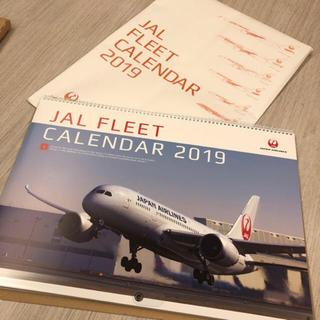 ジャル(ニホンコウクウ)(JAL(日本航空))の新品 JALカレンダー2019(カレンダー/スケジュール)