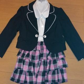 シマムラ(しまむら)のしまむら 入学式 スーツ120 used(ドレス/フォーマル)