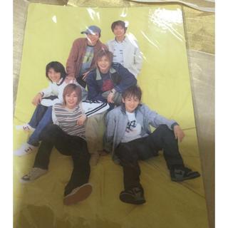 カトゥーン(KAT-TUN)のKAT TUN 下敷き 新品未使用品(アイドルグッズ)
