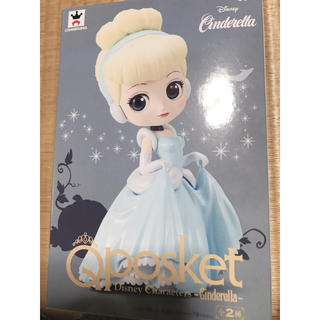 ディズニー(Disney)のゆうひ様専用 シンデレラ qposket パステルカラー 1月28日まで取り置き(フィギュア)