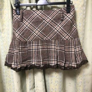 リズリサ(LIZ LISA)のLIZ LISA チェックプリーツスカート お値下げ中(ミニスカート)