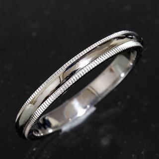 ティファニー(Tiffany & Co.)のティファニー TIFFANY&CO.ミルグレイン リング 18.5号 pt950(リング(指輪))