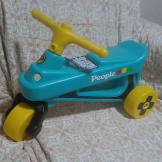 ピープル 公園レーサー 3輪車 少ししか使用していません(三輪車)