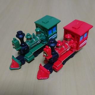 ディズニー(Disney)のディズニートミカ ウェスタンリバー鉄道 2台セット(ミニカー)