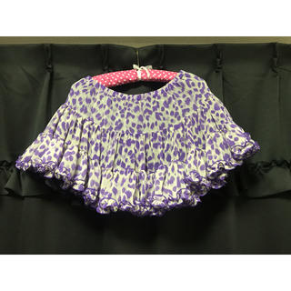 ジェーエスジー(JSG)のJSG レオパード柄 ミニスカート パニエ(ミニスカート)