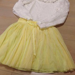 マーキュリーデュオ(MERCURYDUO)のふわふわチュールスカート♡(ミニスカート)