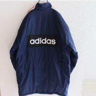 アディダス(adidas)の訳有 US アディダス 刺繍 中綿 肉厚 ナイロン ジャケット MS(ナイロンジャケット)
