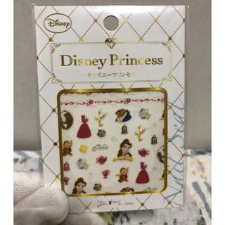 ディズニー(Disney)のネイルシール ディズニー 美女と野獣(ネイル用品)