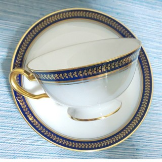 オオクラトウエン(大倉陶園)の新品同様 大倉陶園 ゴールドウイング ティーカップ&ソーサー(グラス/カップ)