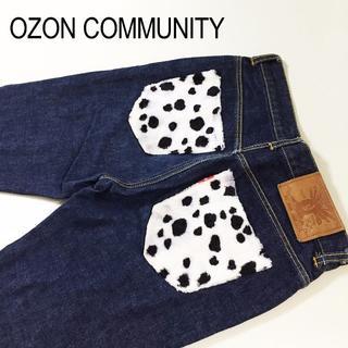 オゾンロックス(OZONE ROCKS)のレディスOZON COMMUNITYオゾンコミュニティデニムパンツ☆約78cm(デニム/ジーンズ)
