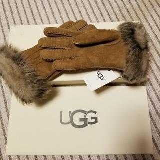 アグ(UGG)の【新品】UGG 羊皮手袋(手袋)
