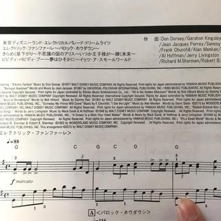 ディズニー(Disney)の東京ディズニーランド ディズニーメドレー 楽譜(童謡/子どもの歌)