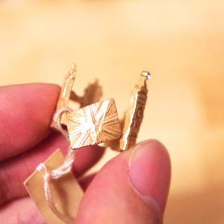 ブルーブルーエ(Bleu Bleuet)の【送料込】イギリスの指輪[gargle](リング(指輪))