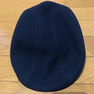ニューヨークハット(NEW YORK HAT)のニューヨークハット ハンチング ネイビー S/M(ハンチング/ベレー帽)