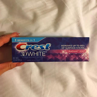 【新品】3d クレスト 99g 歯磨き粉
