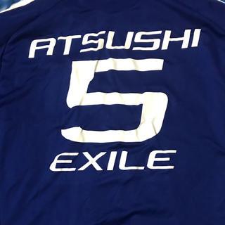 アディダス(adidas)のEXILE 日本代表コラボユニフォーム ATSUSHIさんネーム入り(男性タレント)