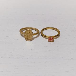 ハニーサロンバイフォピッシュ(honey salon by foppish)のピンキーリング(リング(指輪))