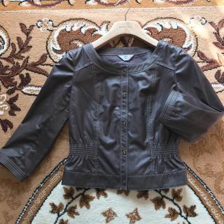 カールラガーフェルド(Karl Lagerfeld)の高級ブランドKarl Lagerfeldのノーカラージャケット (ノーカラージャケット)