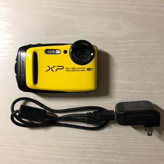 フジフイルム(富士フイルム)の美品 コンパクトデジカメ FUJIFILM Finepix xp90 イエロー (コンパクトデジタルカメラ)