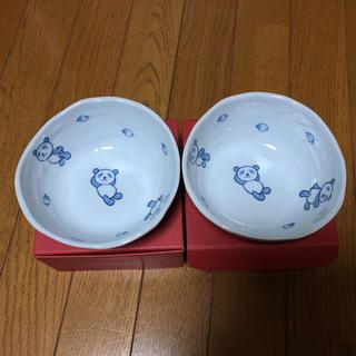ダイマル(大丸)のさくらパンダ食器2個セット(キャラクターグッズ)