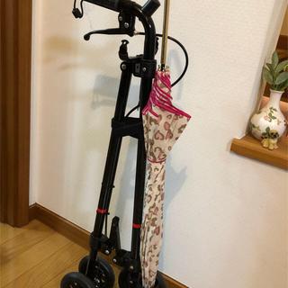 介護 歩行器補助車 ローラーステッカー超美品(歩行器)