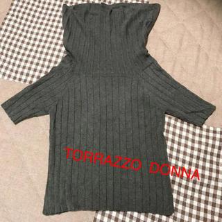トラッゾドンナ(TORRAZZO DONNA)のTORRAZZO  DONNA タートルニット(ニット/セーター)