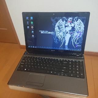 エイサー(Acer)のcore i5 Aspire5750-A58D/K(ノートPC)