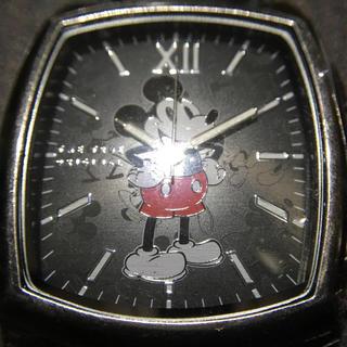 ディズニー(Disney)の[海外限定] ミッキー 腕時計 ブラック 新品未使用 90周年記念モデル(腕時計(アナログ))