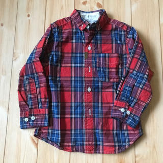 ゴートゥーハリウッド(GO TO HOLLYWOOD)のgotohollywood チェックシャツ(Tシャツ/カットソー)