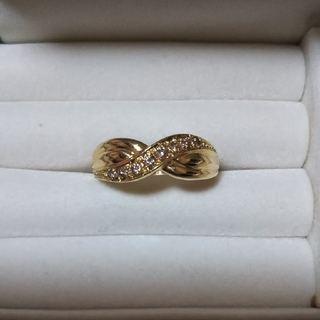 ジュエリーマキ(ジュエリーマキ)の週末価格♪K18ダイヤリングです♪(リング(指輪))