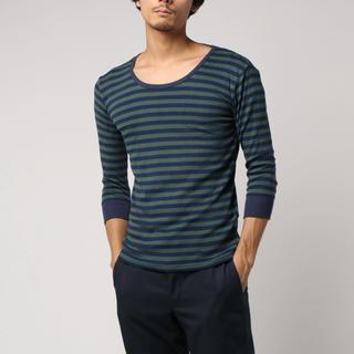 ジーアールエヌ(grn)のgrn フィットフライス Tシャツ(Tシャツ/カットソー(七分/長袖))