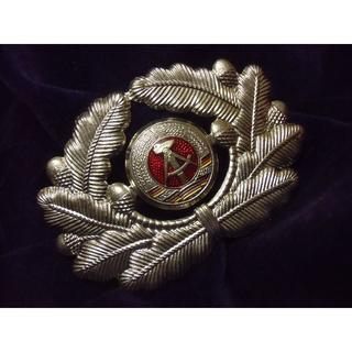 NVA/東ドイツ軍/人民軍*陸軍将校用コカルデ&クランツ(実物)(戦闘服)